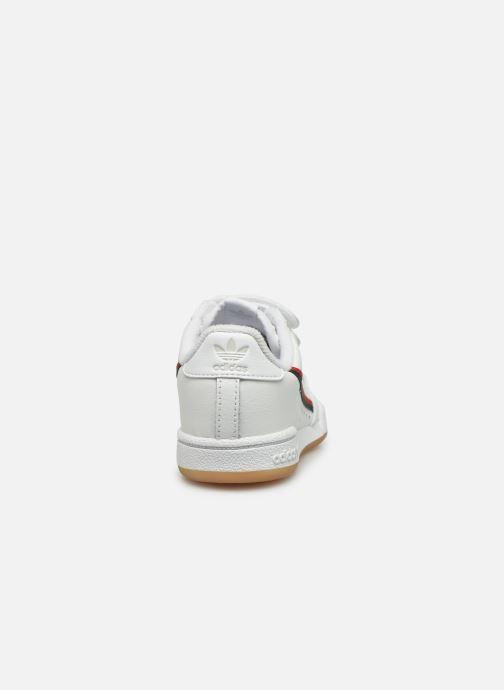 Baskets adidas originals Continental 80 Cf I Blanc vue droite