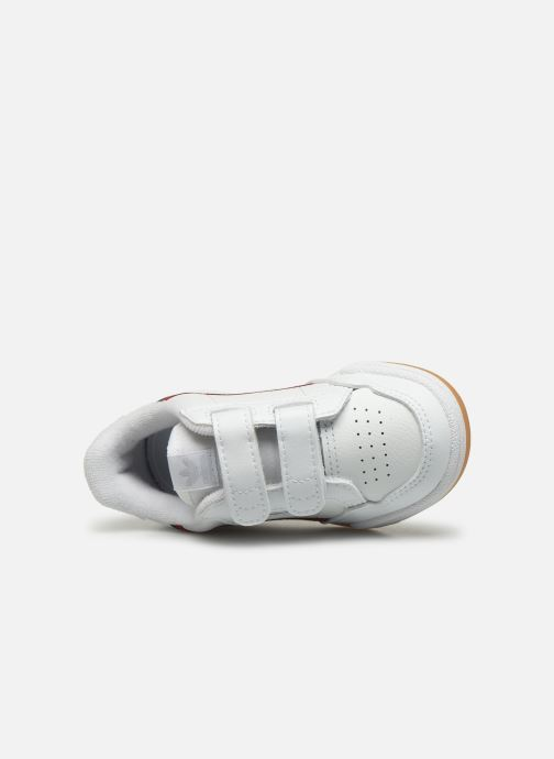 Baskets adidas originals Continental 80 Cf I Blanc vue gauche