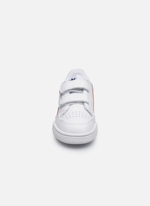 Baskets adidas originals Continental 80 Cf I Blanc vue portées chaussures