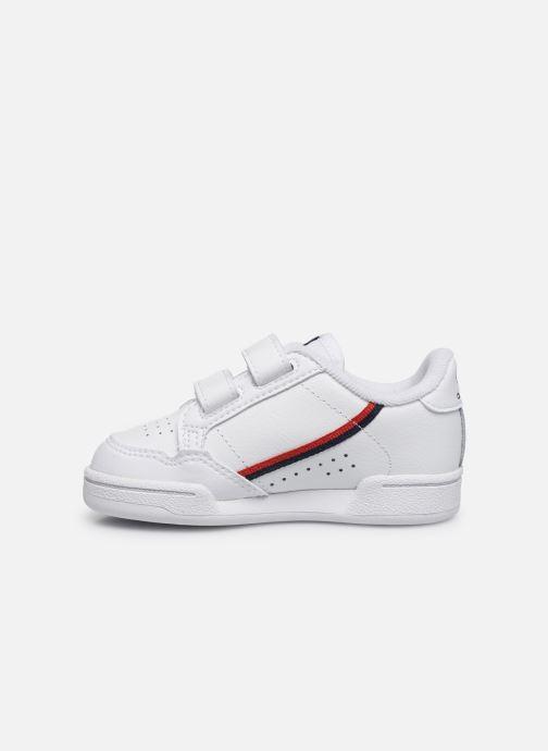 Sneakers adidas originals Continental 80 Cf I Wit voorkant