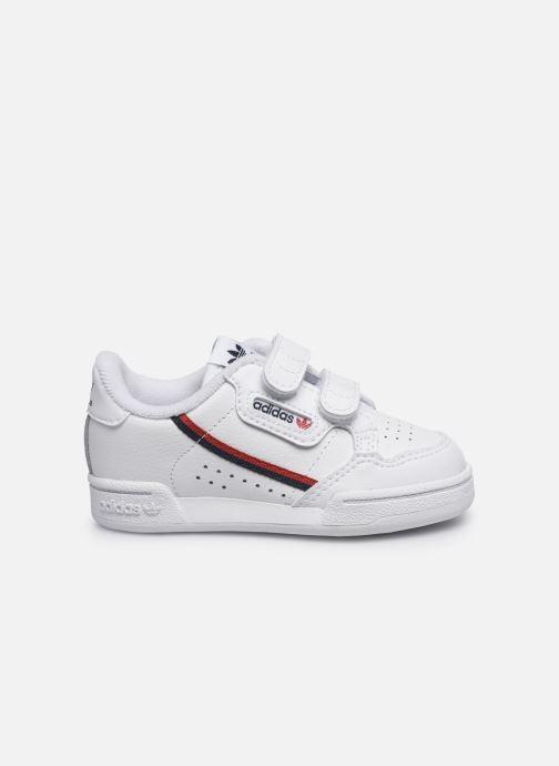 Baskets adidas originals Continental 80 Cf I Blanc vue derrière