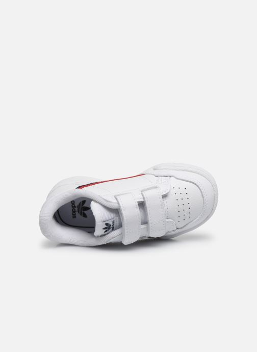 Sneakers adidas originals Continental 80 Cf I Wit links