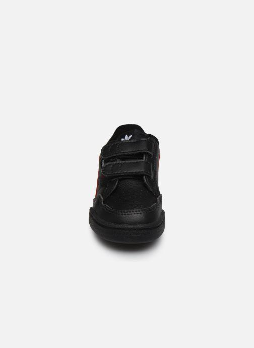 Baskets adidas originals Continental 80 Cf I Noir vue portées chaussures