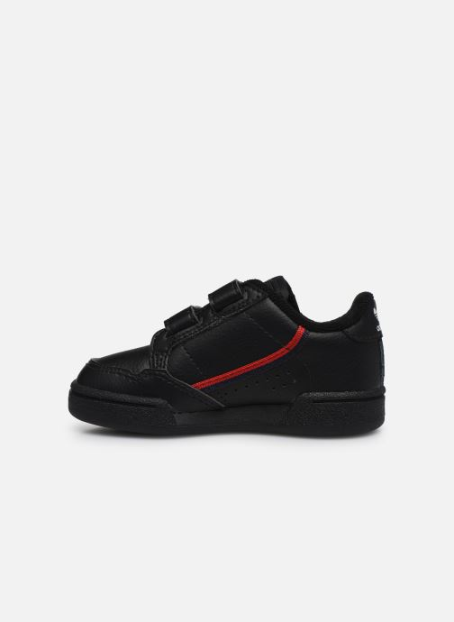 Baskets adidas originals Continental 80 Cf I Noir vue face