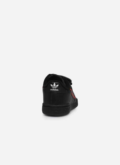 Baskets adidas originals Continental 80 Cf I Noir vue droite