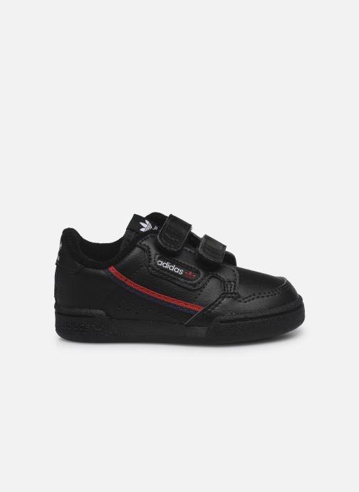 Baskets adidas originals Continental 80 Cf I Noir vue derrière
