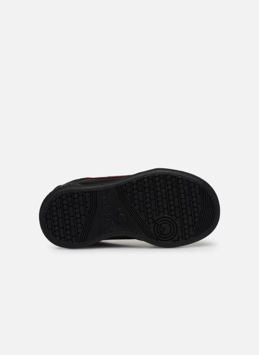 Baskets adidas originals Continental 80 Cf I Noir vue haut