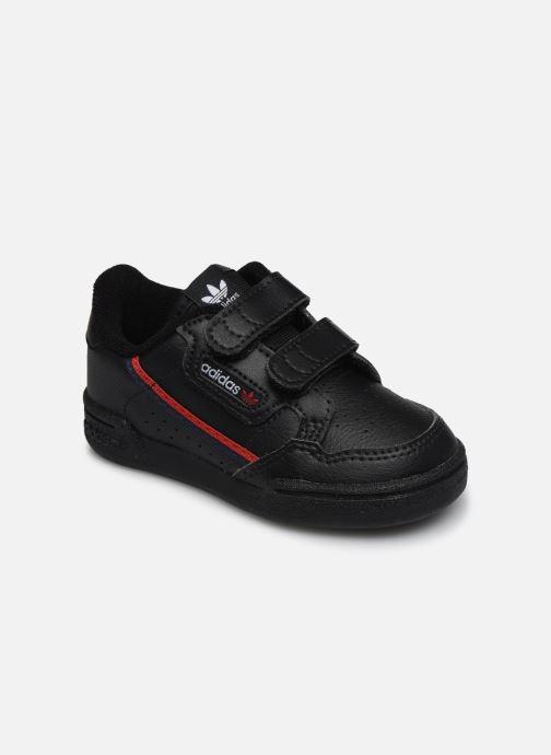 Baskets adidas originals Continental 80 Cf I Noir vue détail/paire