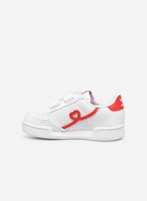 Sneaker adidas originals Continental 80 Cf I weiß ansicht von vorne