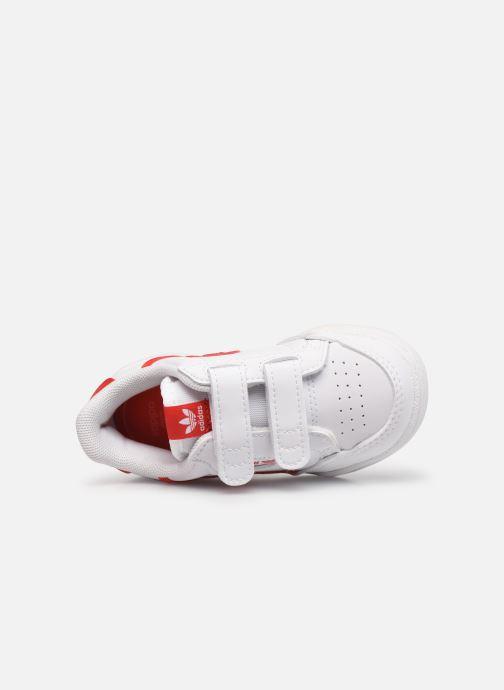 Sneaker adidas originals Continental 80 Cf I weiß ansicht von links