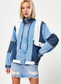 Tøj Accessories PANEL DENIM BOMBER