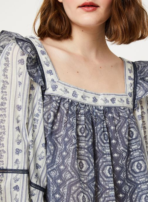 Vêtements Free People MOSTYL MEADOW BLOUSE Beige vue face