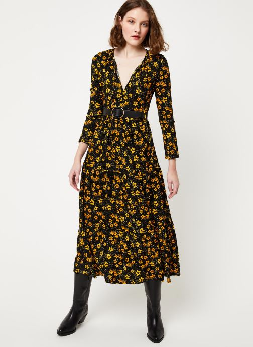 Free People Robe maxi - TIERS OF JOY MIDI (Noir) - Vêtements (386865)