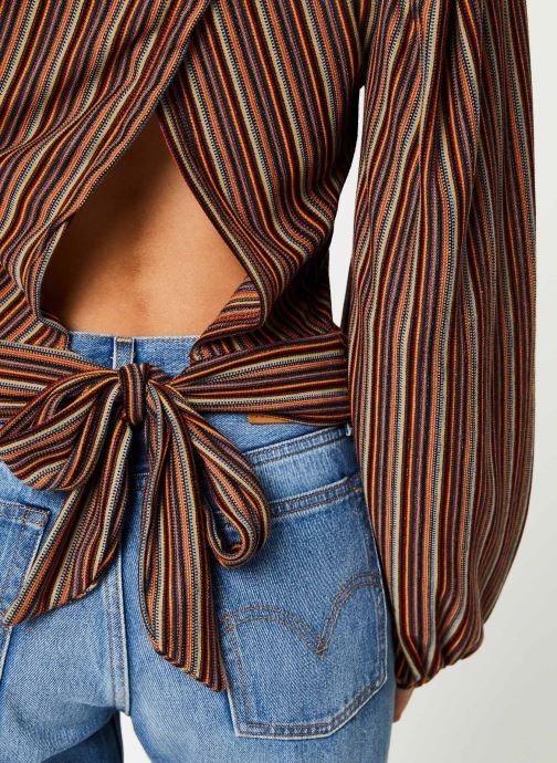 Vêtements Free People AUTUMN NIGHTS TOP Multicolore vue face