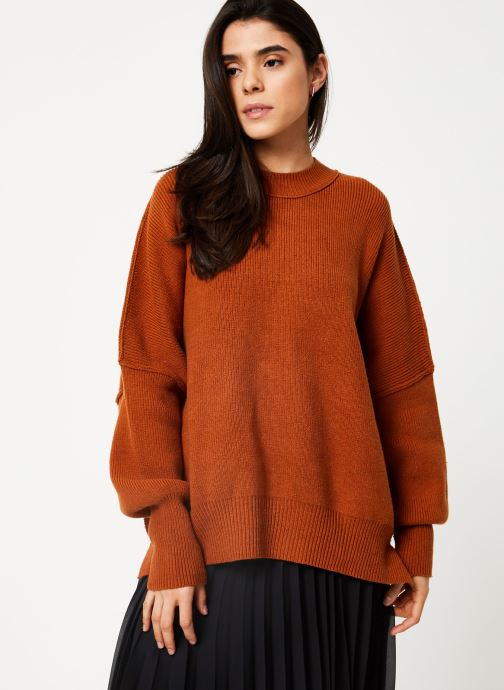 Vêtements Free People EASY STREET TUNIC Marron vue détail/paire