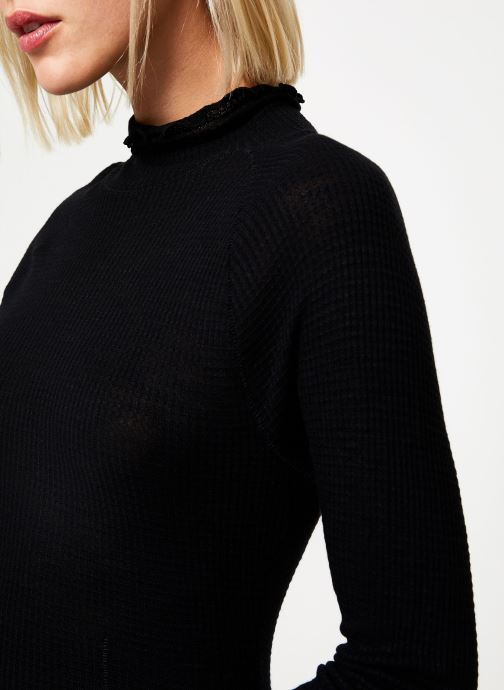 Vêtements Free People MAKE IT EASY THERMAL Noir vue face