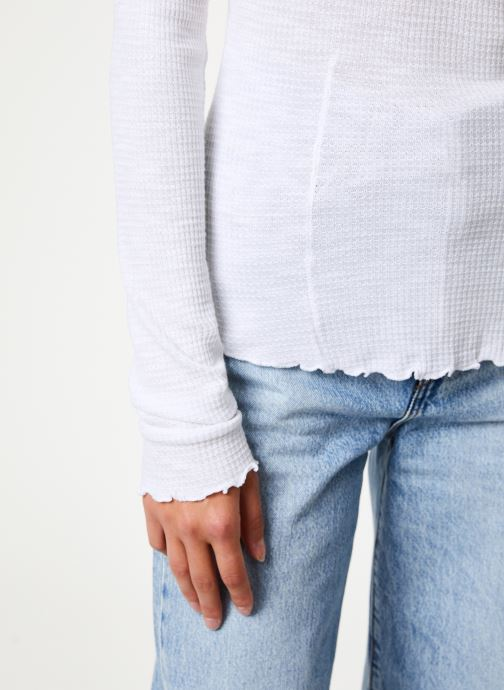 Vêtements Free People MAKE IT EASY THERMAL Blanc vue face