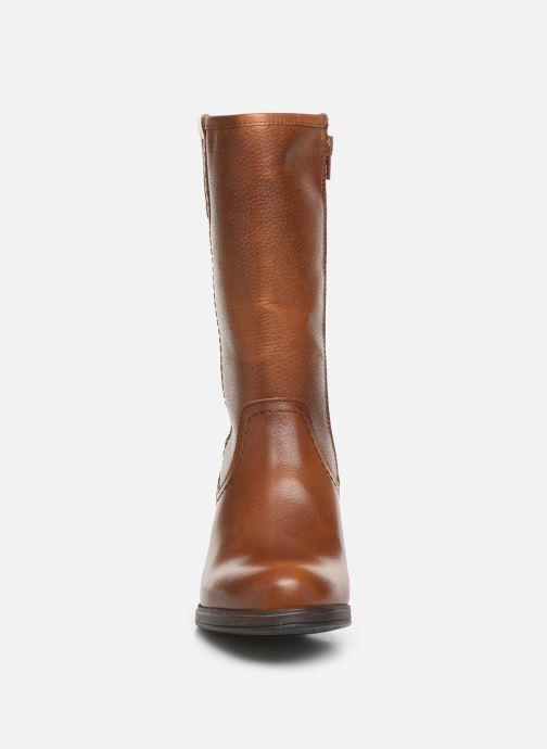 Bottes Bullboxer 490M90284 Marron vue portées chaussures