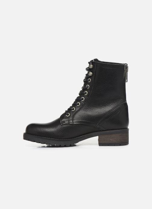 Boots en enkellaarsjes Bullboxer 797M80283 Zwart voorkant