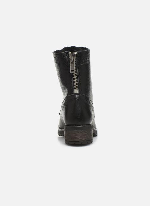 Boots en enkellaarsjes Bullboxer 797M80283 Zwart rechts