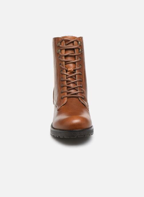 Bottines et boots Bullboxer 797M80283 Marron vue portées chaussures
