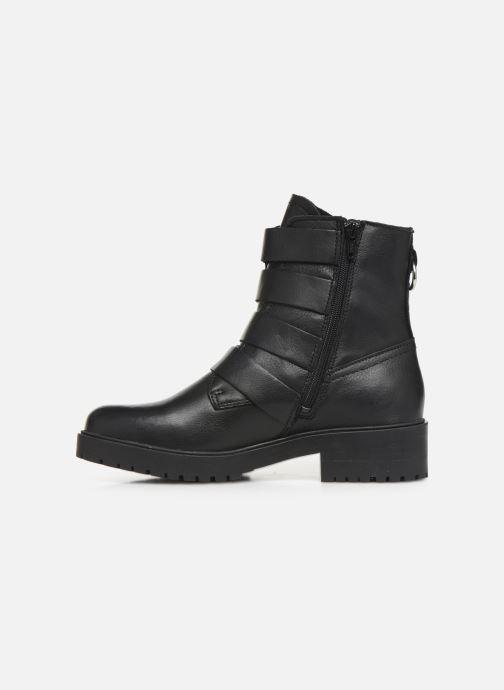 Boots en enkellaarsjes Bullboxer 387517E6L Zwart voorkant