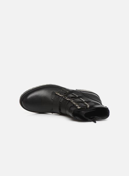 Boots en enkellaarsjes Bullboxer 387517E6L Zwart links