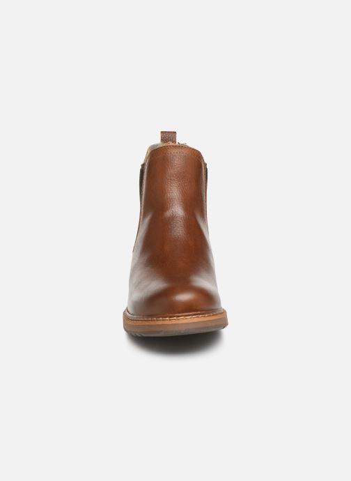 Bottines et boots Bullboxer 049M45402 Marron vue portées chaussures