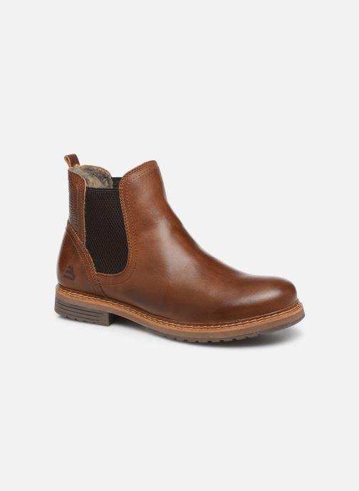 Bottines et boots Bullboxer 049M45402 Marron vue détail/paire