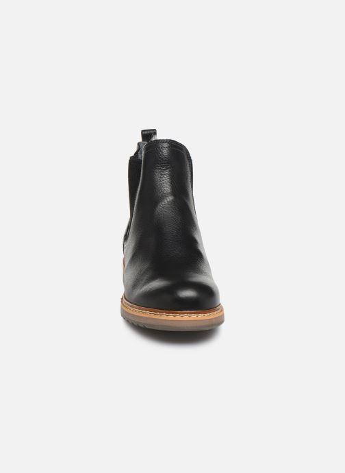 Stiefeletten & Boots Bullboxer 049M45402 schwarz schuhe getragen