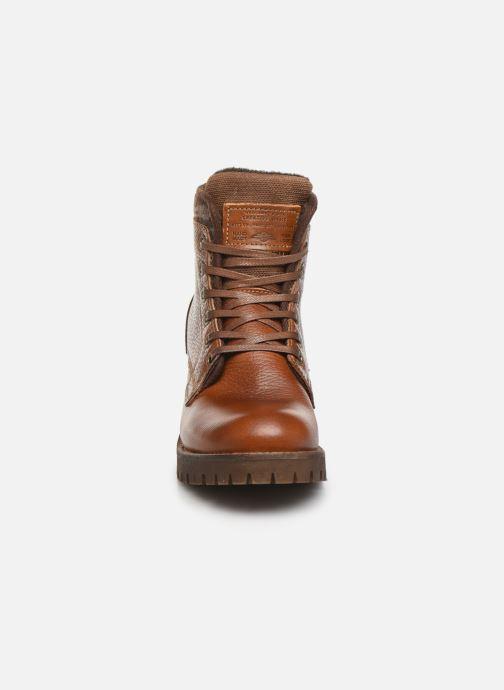 Bottines et boots Bullboxer 772M56894 Marron vue portées chaussures