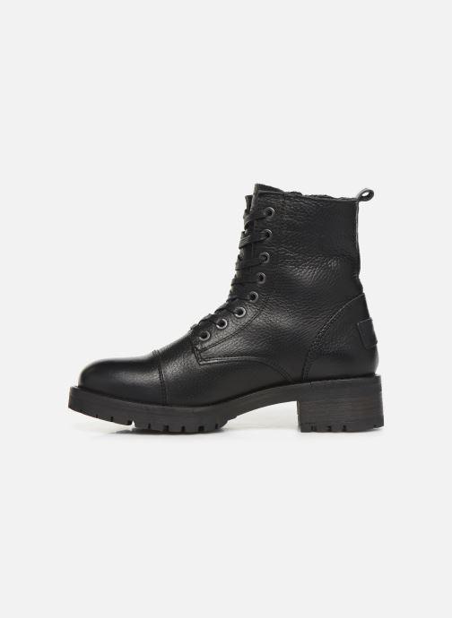 Boots en enkellaarsjes Bullboxer 579M86551 Zwart voorkant