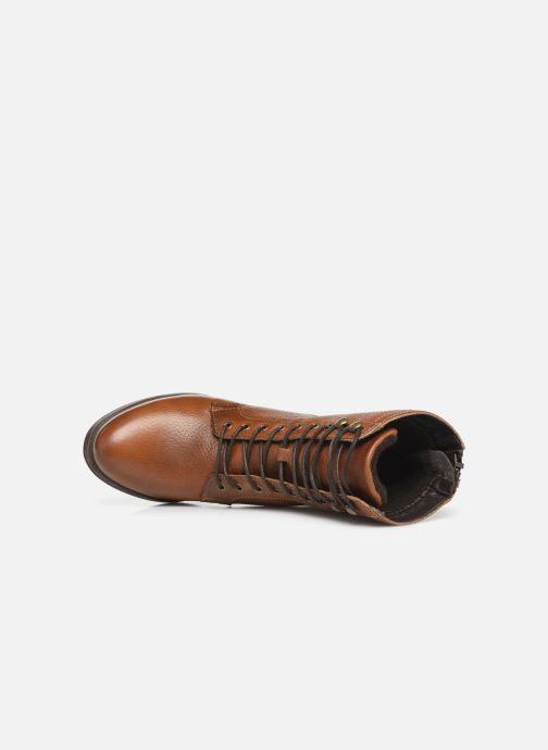 Boots en enkellaarsjes Bullboxer 490M80302 Bruin links