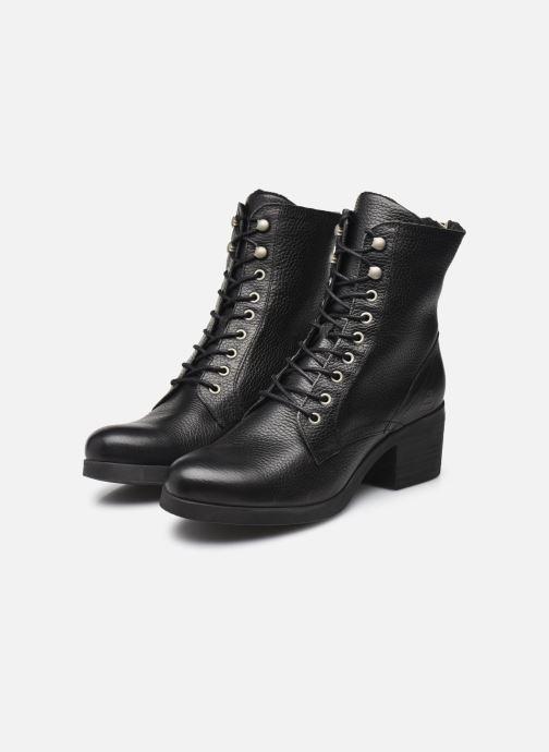 Bottines et boots Bullboxer 490M80302 Noir vue bas / vue portée sac