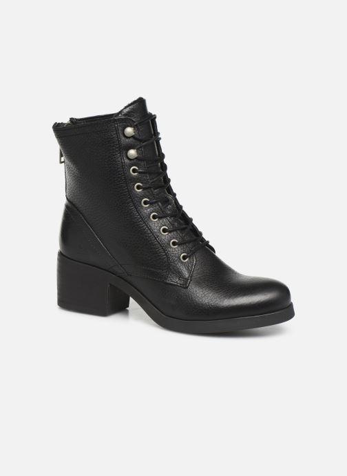 Boots en enkellaarsjes Bullboxer 490M80302 Zwart detail