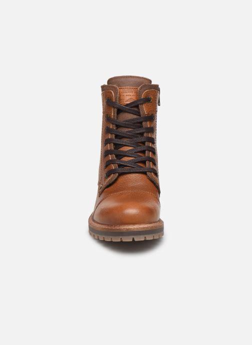 Bottines et boots Bullboxer 836M80070 Marron vue portées chaussures