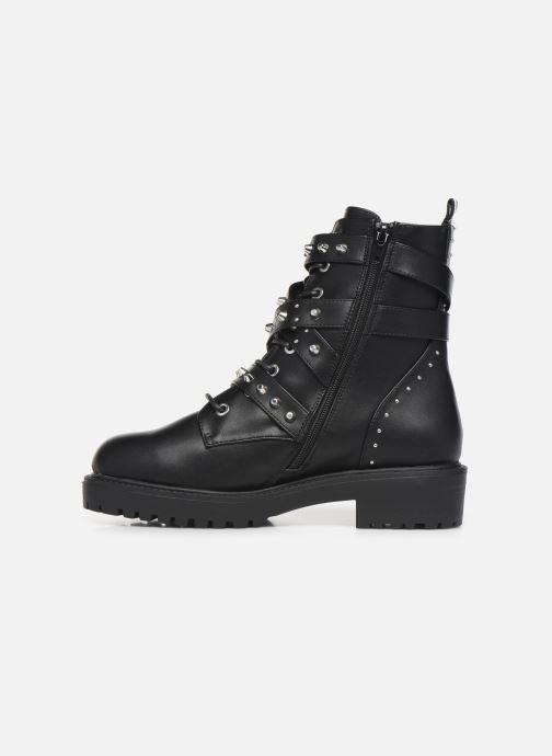 Boots en enkellaarsjes Bullboxer 031506F6S Zwart voorkant