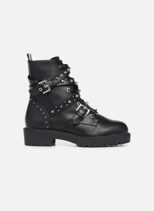 Boots en enkellaarsjes Bullboxer 031506F6S Zwart achterkant