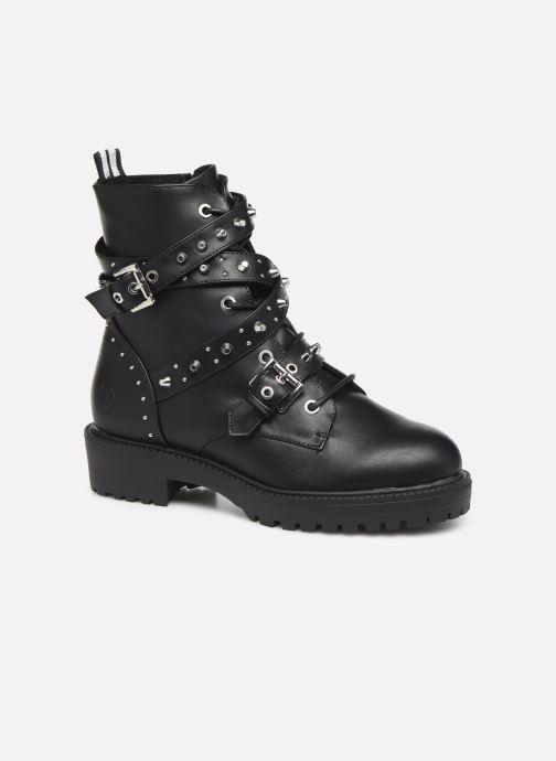 Boots en enkellaarsjes Bullboxer 031506F6S Zwart detail