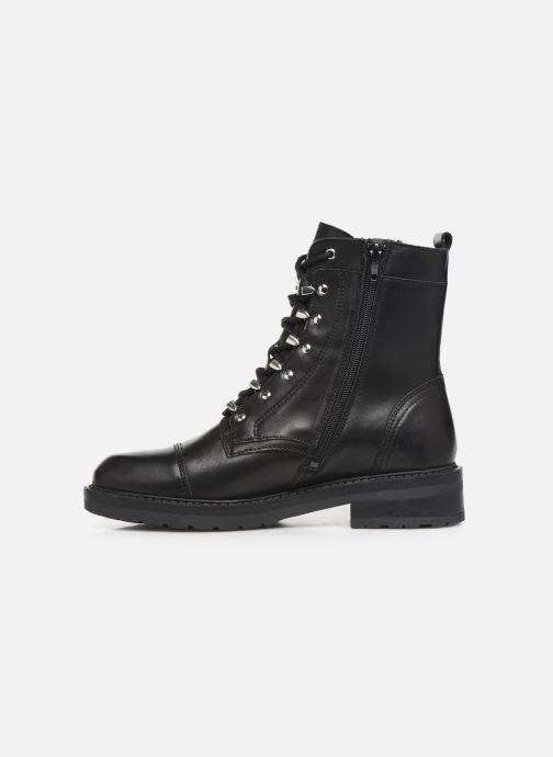 Boots en enkellaarsjes Bullboxer 333511E6L Zwart voorkant