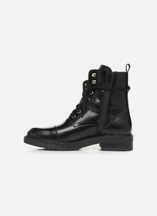 Boots en enkellaarsjes Bullboxer 333500E6L Zwart voorkant