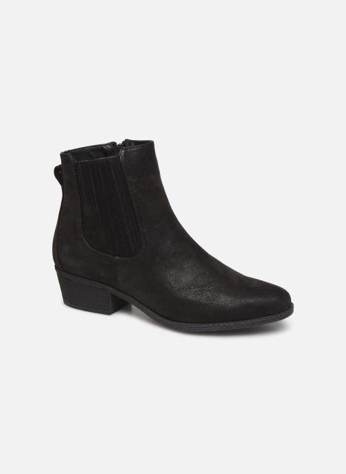 Boots en enkellaarsjes Bullboxer 046501F6S Zwart detail