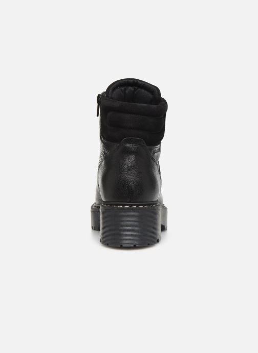 Botines  Bullboxer 364501E6L Negro vista lateral derecha