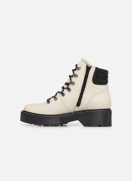 Boots en enkellaarsjes Bullboxer 364501E6L Wit voorkant