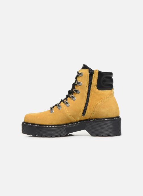 Boots en enkellaarsjes Bullboxer 364501E6C Geel voorkant