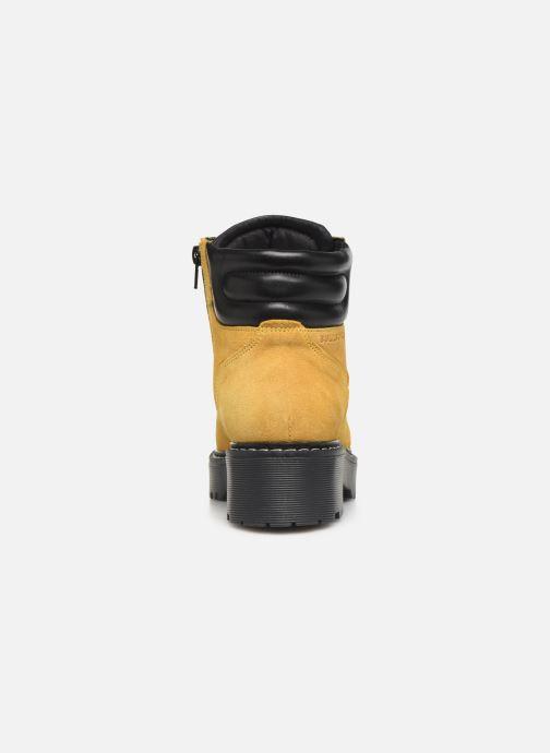 Bottines et boots Bullboxer 364501E6C Jaune vue droite