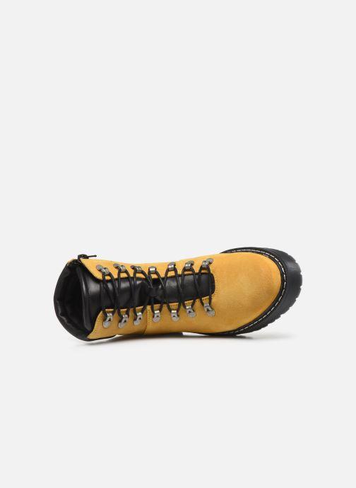 Stiefeletten & Boots Bullboxer 364501E6C gelb ansicht von links