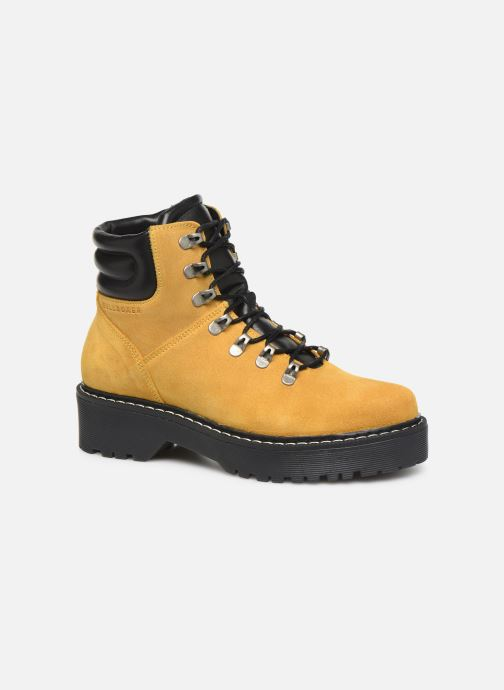 Boots en enkellaarsjes Bullboxer 364501E6C Geel detail