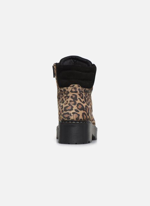 Boots en enkellaarsjes Bullboxer 364501E6C Bruin rechts