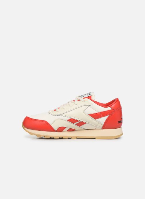 Baskets Reebok Reebok x TAO Cl Nylon J Rouge vue face